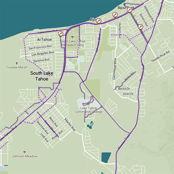 bike map tahoe